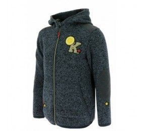 Equithème Kids Pony Rider Fleece with hood Navy
