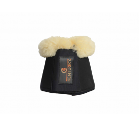 KENTUCKY Sheepskin Overreach Boots Black