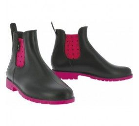 EQUITHEME Boots Synthetic Black