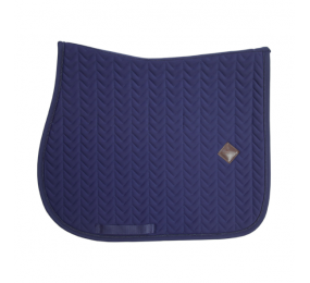 KENTUCKY Saddle Pad Fishobone Show Jumping Navy