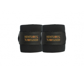 KENTUCKY Fleece & elastik bandagen schwarz