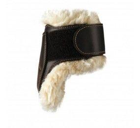 KENTUCKY Protège Boulet Cuir Mouton Noir