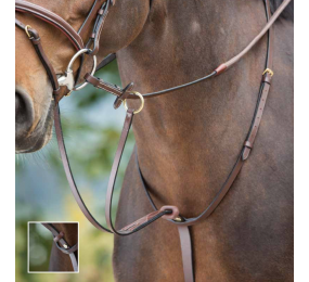 HFI Bridle Anatomic Brun