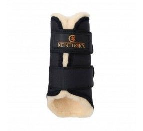 KENTUCKY Turnout Boots 3D Spacer Black Front