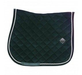 KENTUCKY Saddle Pad Fishobone Show Jumping White