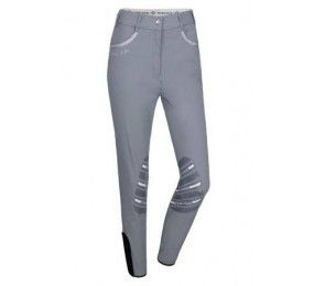 HARCOUR Jalisca Women Breeches Fix system grip Grey
