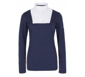 HARCOUR Alexia Techline Women Competition polo Navy