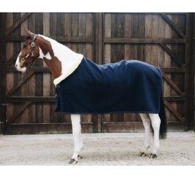KENTUCKY Couverture Fleece Rug Show « Heavy » Navy