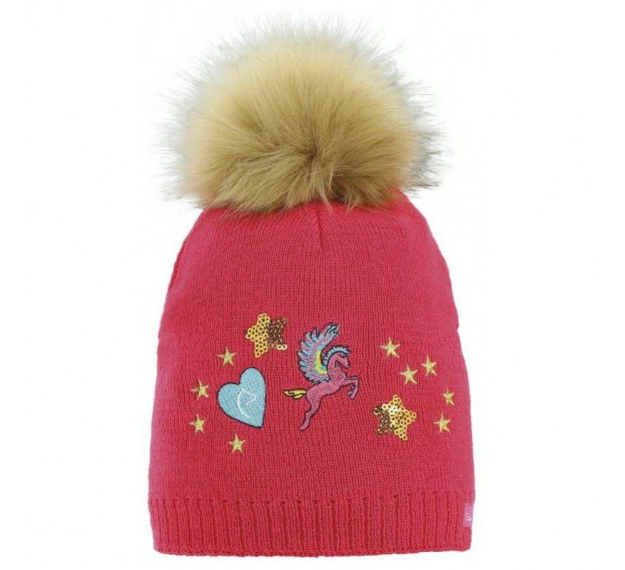 EQUITHEME Bonnet Kids Joly Rose