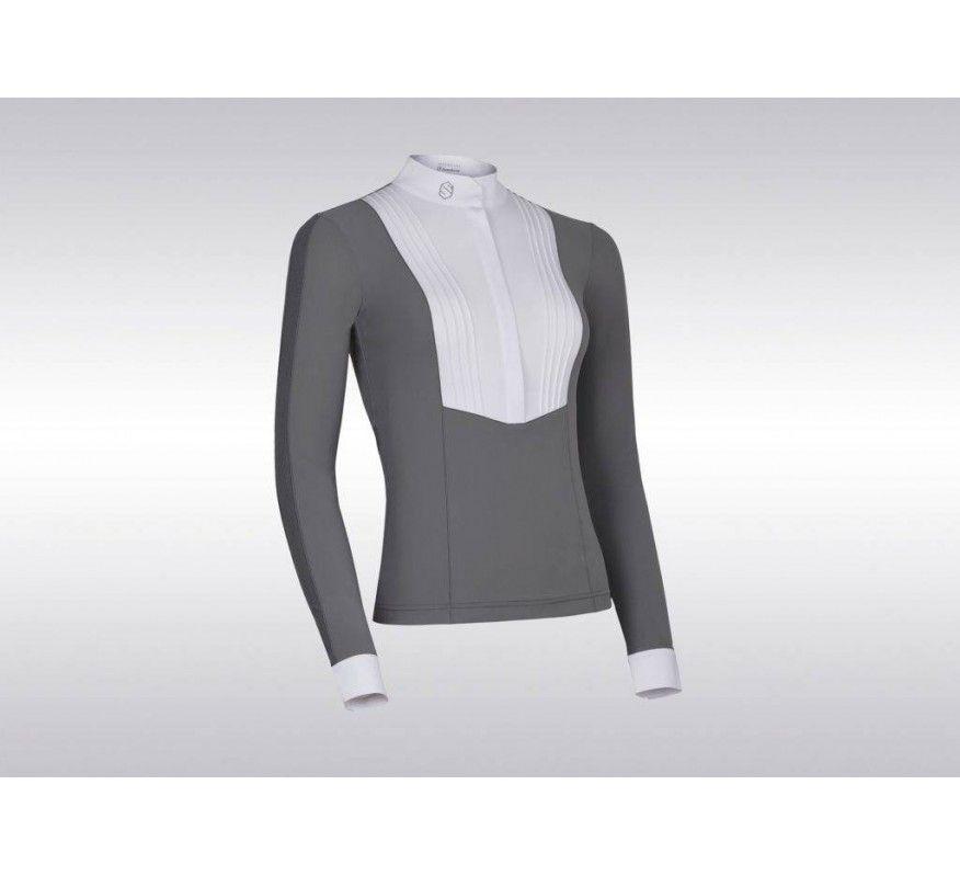 SAMSHIELD Georgia Damen Langarm-Polo-Shirt