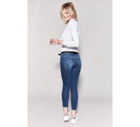 HARCOUR Sangria Pantalon Jean femme