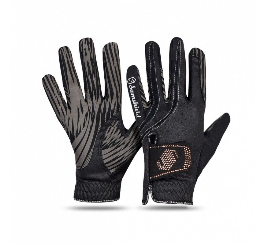 SAMSHIELD - V-Skin Swaroski Rose Gold Gloves