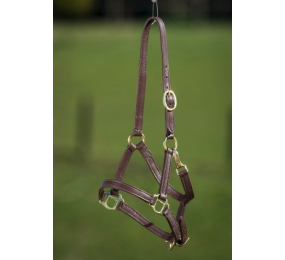 HFI Halter Foal Soft Leather Brown