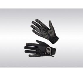 SAMSHIELD - V-Skin Swaroski White Gloves black