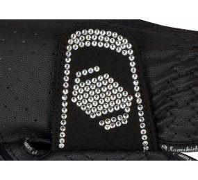 SAMSHIELD V-Skin Swarovski Blanc Gants Noir