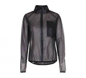 EQUIPAGE Unisex rain jacket black