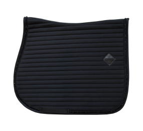 KENTUCKY Pearls Saddle Pad Jumping Black