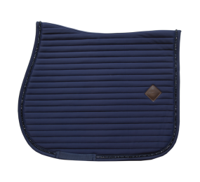 KENTUCKY Pearls Saddle Pad Jumping Blue