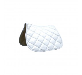 PRIVILEGE Jumping Saddle Pad Palm Beach white-white-white