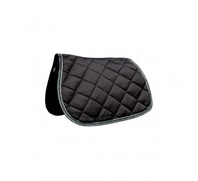 PRIVILEGE Jumping Saddle Pad PB black-silver-black