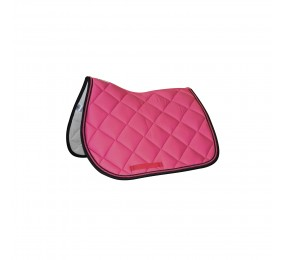PRIVILEGE Jumping Saddle Pad PB black-pink-black