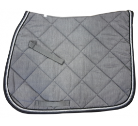 HFI Saddle Pad grey-black