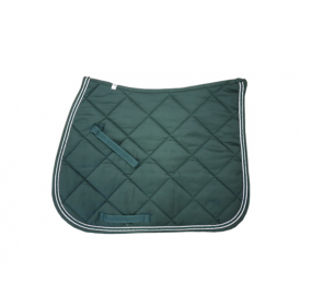 HFI Saddle Pad dark green-silver
