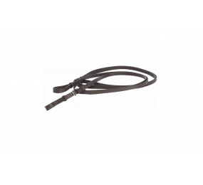 TdeT draw reins brown leather