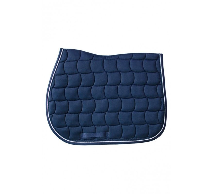 HARCOUR Chantilly Saddle Pad Navy