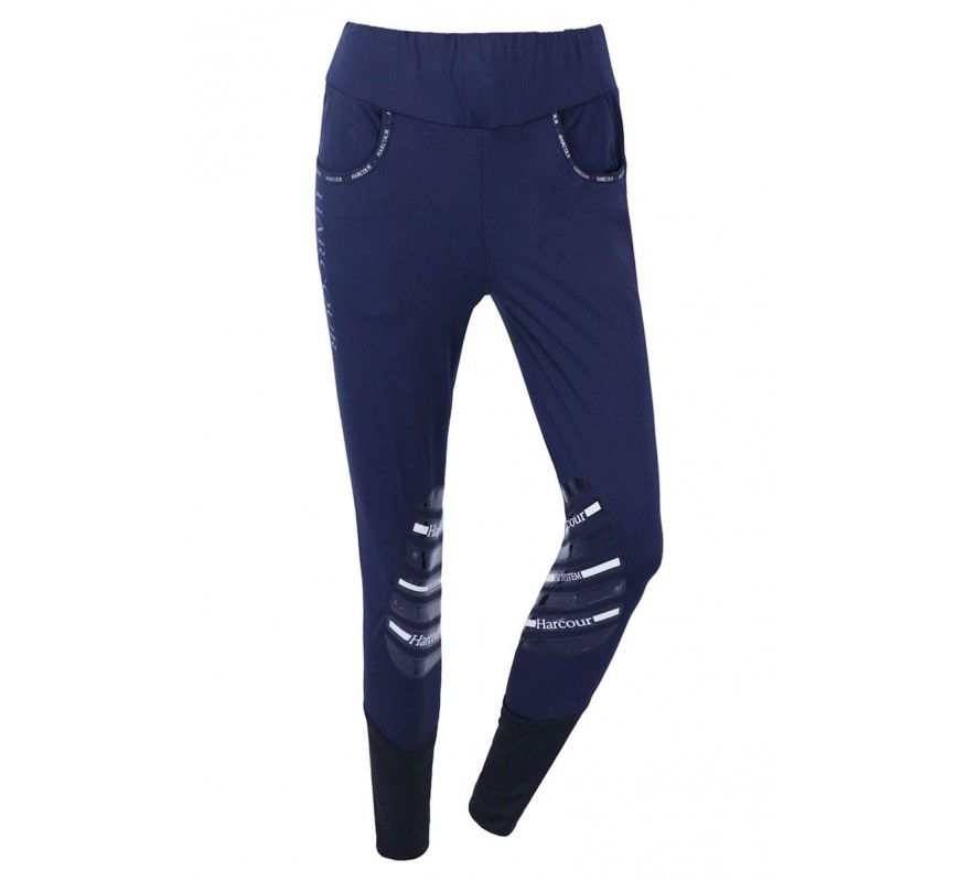 HARCOUR Valence Pantalon Equitation legging marine