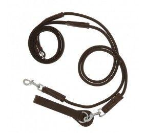 NORTON Pro draw reins, web/rope