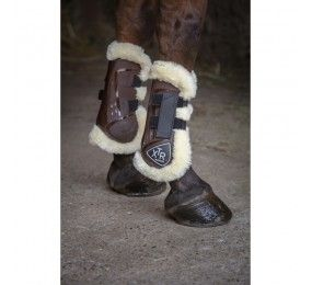 NORTON XTR Tendon Boots with synthetic sheepskin