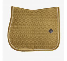 KENTUCKY Saddle pad velvet jumping mustard