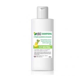 ESC LABORATOIRE Shampoing pour chevaux Fly Neutral – Soin nettoyant odorant insectes cheval – Enrichi en huiles essentielles