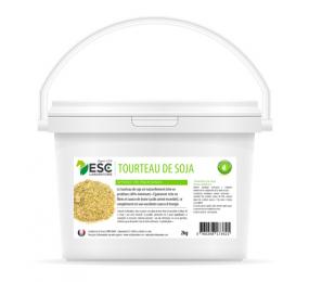 ESC LABORATOIRE Tourteau de soja – Apport en protéines et soutien énergétique pour chevaux 2.5kg
