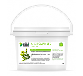 ESC LABORATOIRE Algues Marines – Fatigue et baisse de forme cheval – Plante pure 1kg