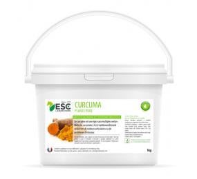 ESC LABORATOIRE Curcuma – Articulations et digestion cheval – Plante pure 1kg