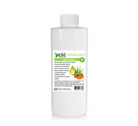 ESC LABOR Kurkuma Auszug - Aloe + Kurkumasaft - Verdauungskomfort für Pferde 1 Liter
