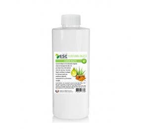 ESC LABORATOIRE Curcuma Digest – Jus d'aloe + curcuma – Confort digestif du cheval 1 litre