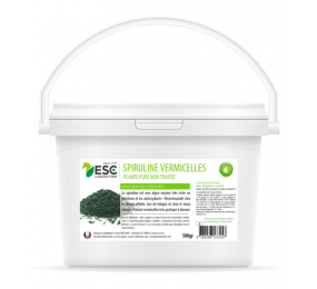 ESC LABORATORY Spirulina vermicelli for horses - Resistance to effort and protein intake 500g