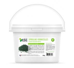ESC LABORATORY Spirulina vermicelli für Pferde - Widerstand gegen Anstrengung und Proteinaufnahme 500g