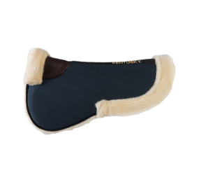 KENTUCKY Sheepskin Half Pad Absorb Navy