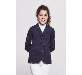HARCOUR Cella Kid Competition Jacket Rider Navy