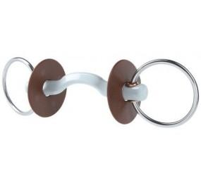 BERIS Mors 2 anneaux avec passage de langue Hard Konnex