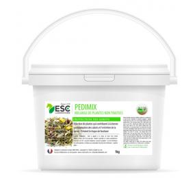 ESC LABORATOIRE Pedimix - Horse hoof blood circulation and horse laminitis - Mixture of plants 1kg