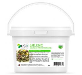 ESC LABORATOIRE Garlicmix – Ail Ortie Artichaut – Mélange de plantes cheval 1kg