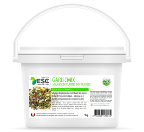 ESL LABORATOIRE Garlic Mix - Garlic Nettle Artichoke - Horse herbs mix 1kg