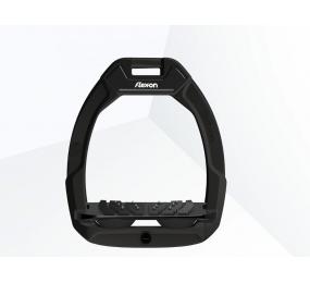 FLEX-ON Safe-On Sicherheitsbügel Schrägplatte Ultragriff - schwarz/schwarz/schwarz