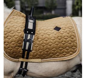 KENTUCKY schabracken velvet jumping Pony Mustard