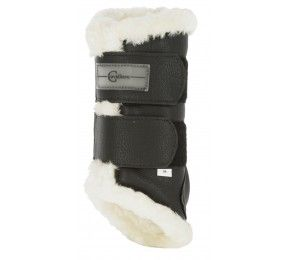 Covalliero Sheepskin gaiters for horses